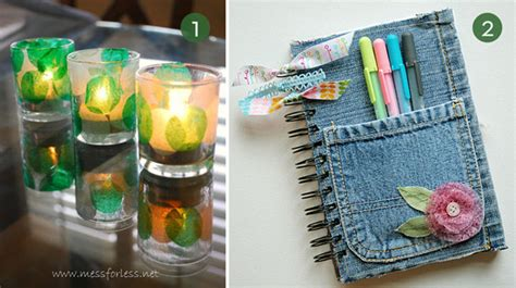 craft ideas for using recycled materials roundup 10 diy craft projects using recycled