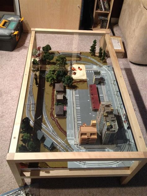 Coffee Table Layout N Scale Model Railroad Page 2 Coffee Table Model Railroad