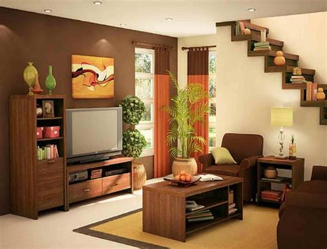 space decor modern living room design with cool staircase for