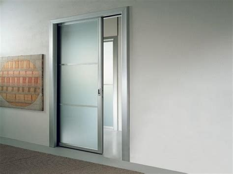 Interior Glass Pocket Doors Frosted Glass Pocket Doors For Your House Seeur