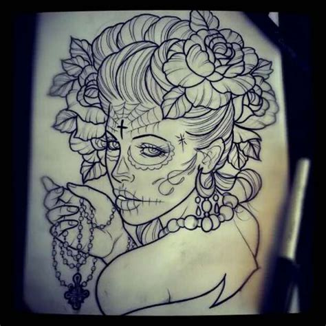 tattoos de catrinas 1000 ideas about catrina on