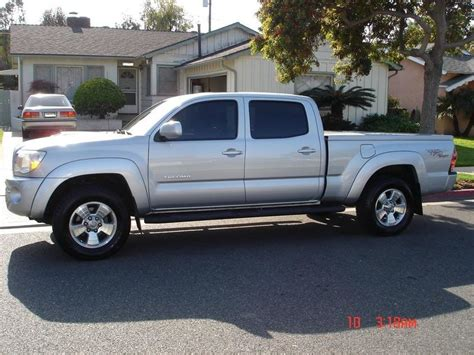 toyota tacoma long bed for sale cl fs socal 2005 toyota tacoma double cab trd sport long