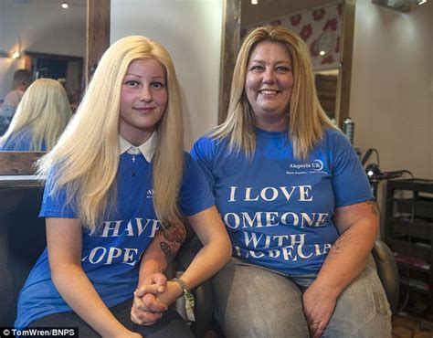 do moms shave teen son pubic hair mother shaves her head to create a wig for alopecia