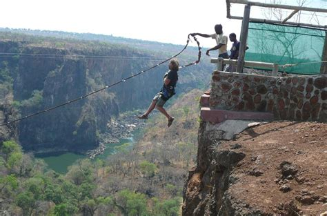 gorge swing zambia tour of falls to see and experience a