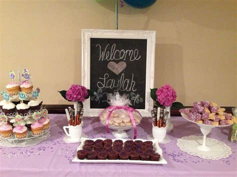 Dessert Bar Ideas For Baby Shower by Dessert Bar For A Baby Shower Own Creations