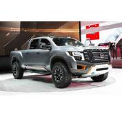 Nissan Titan Warrior Concept Beefed Up Diesel Powered And Ready For