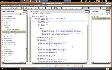 Membuat Game Kuis Dengan Java | membuat game kuis dengan java java programming game kuis