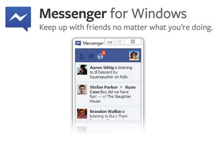 facebook questions officially launches facebook officially launches messenger for windows