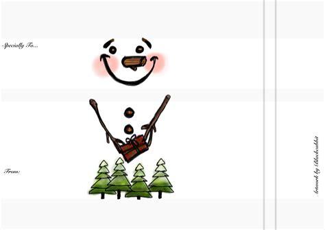 christmas snowman wrapper blackcabbit s world