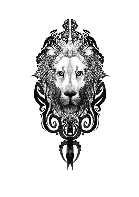 82 famous lion tattoo design amp sketches