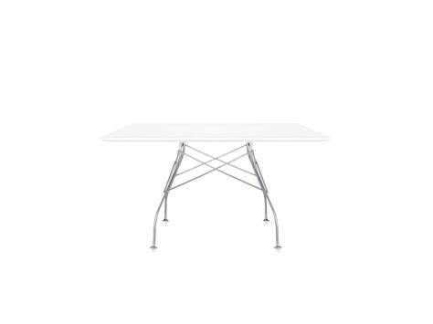 kartell glossy dining table buy the kartell glossy square dining table at nest co uk