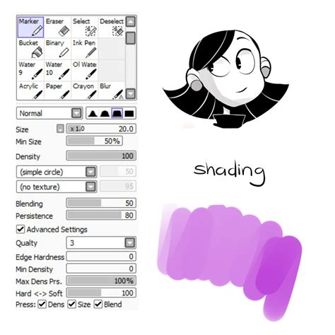 paint tool sai stabilizer doesn t work paint tool sai brushes