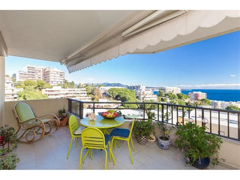 terrasse nice vente appartement nice immobilier nice vue mer