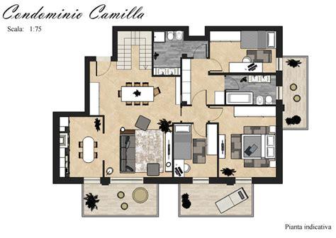 pianta appartamenti vendita appartamenti a residence camilla