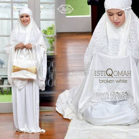 Gaun Bordir Am 04 High Quality istiqomah b white pusat busana gaun pesta muslim modern