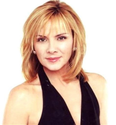 Kim Cattrall Beautiful Haircut
