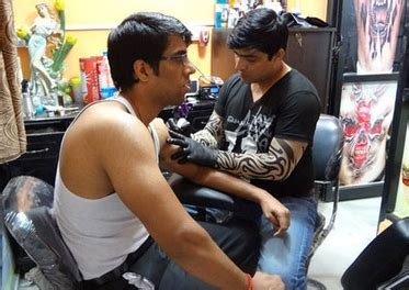 tattoo maker in hisar tattoo by dev in dwarka delhi localdiaries