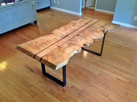 live edge table with glass and poplar burl timber salvabrani maple burl live edge dining table with ambrosia maple center flanked by walnut with cut