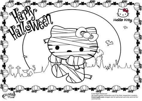 hello kitty zombie halloween coloring pages hello kitty zombie halloween coloring pages festival