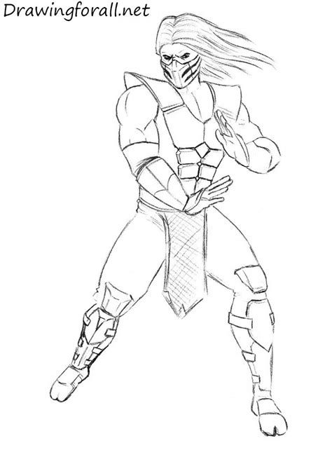 how to draw scorpion from mortal kombat x easy things to how to draw smoke from mortal kombat drawingforall net