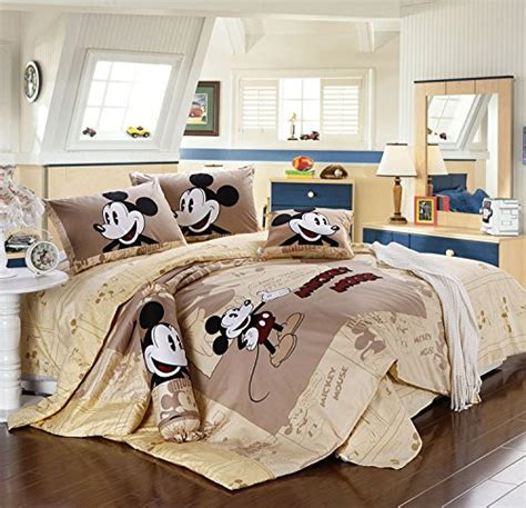 Mickey Single Sprei Set mickey mouse bedding sets for the grown up disney lover