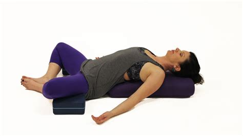 Reclining Bound Angle Pose by Poses For A Hangover Speed Up Hangover Recovery