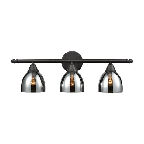 oil rubbed bronze bathroom lights titan lighting reflections 3 light oil rubbed bronze with