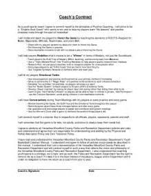 coaching contracts templates doc 500647 coaching contract template coaching
