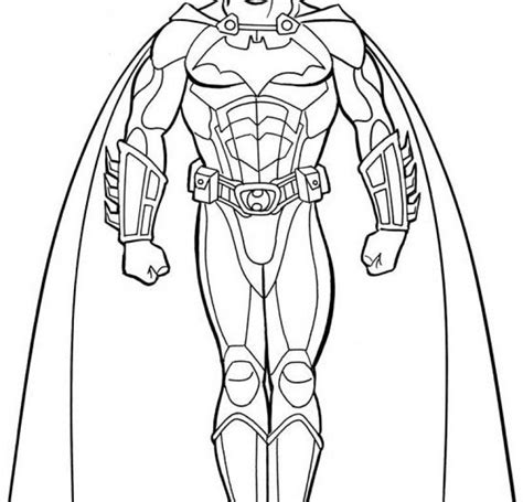 a very indignant on batman villains coloring page kids