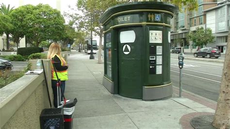 public bathrooms in san francisco city hires workers to patrol public potties on san