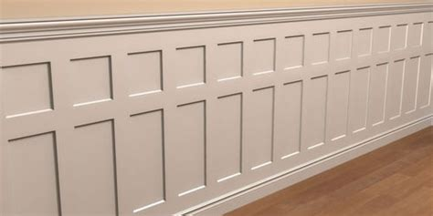 Types Of Wainscoting Panels by Flat Panel Wainscotingg 1 It S Going In The Dining Room