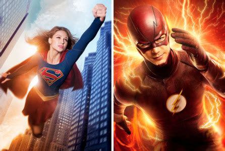 grant gustin to guest as 'the flash' on 'supergirl' in