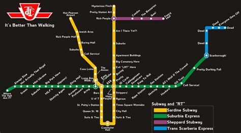 printable map toronto subway toronto transit map with real world station descriptions