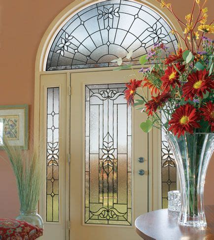 decorative glass door sidelights odl decorative door glass cadence full glass with