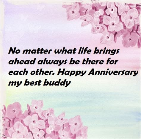 Wedding Anniversary Wishes For by Wedding Anniversary Wishes Quotes To Friend Best Wishes