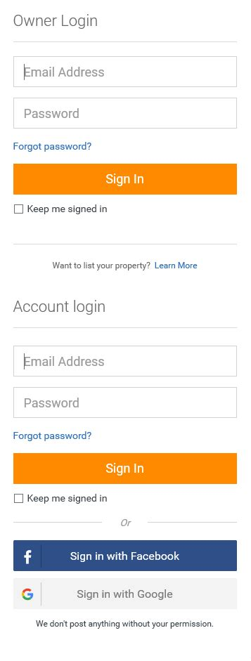 home away login 28 images two factor authentication