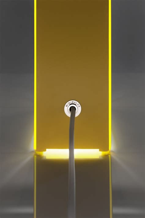 Lu Neon neon table light by minimalux design milk