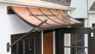 custom copper  iron window awnings exterior los