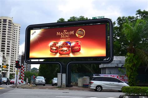 Led Billboard bangsar shopping centre ledtronics led displays