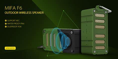 Harga Tas Pinggang Tough mifa portable waterproof bluetooth speaker with carabiner