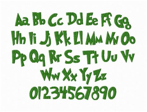 printable grinch font best photos of grinch embroidery font grinch machine