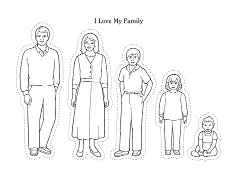 Simple Listy Black And White nursery manual page 51 i my family