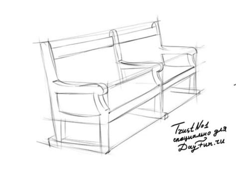 how to draw a park bench how to draw bench step by step arcmel com