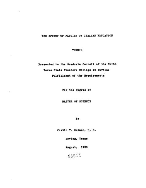 thesis title education proposed thesis title education