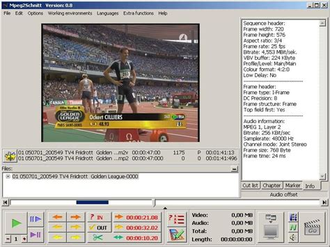 full version free video editing software mpeg 2 mpeg2schnitt version history videohelp