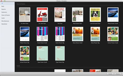 templates voor pages apple pages voor mac