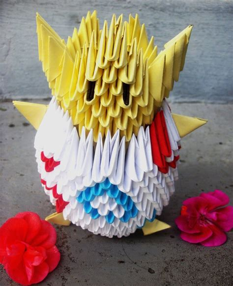 Easy 3d Origami - 3d origami paper 30 amazing modular character crafts