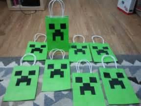 Minecraft Favor Bags by Minecraft Favor Bags Let S