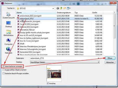 tutorial indesign pdf mehrseitige pdf in indesign importieren platzieren