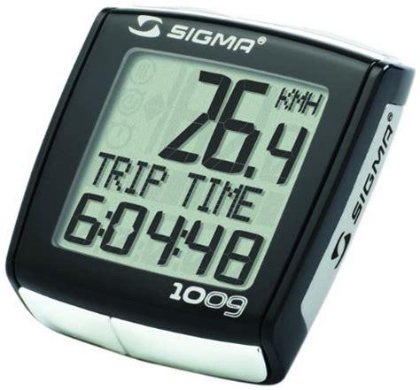 Speedometer Sigma Bc sigma bc 1009 bicycle speedometer bike trainers reviews